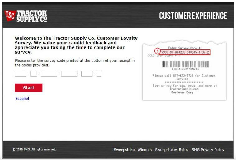 Tractor Supply Survey
