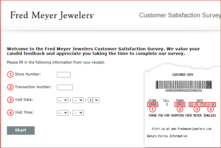 Fred Meyer Jewelers Store Survey